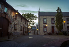 2016_06_16(07) (bas.handels) Tags: street blue house architecture night blauw village nacht avond architectuur limburg bocholtz