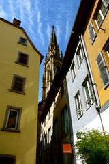 Angles & Angel Tracks (Dan Daniels) Tags: windows architecture clouds skies cityscapes cathedrals alsace oldarchitecture audand mulhousealsacefr
