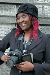 Ophelia # 88 of my 100 strangers series (Finding Chris) Tags: london photographer stranger exhibition ghana somersethouse photolondon jamesbarnor