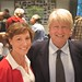 Rebecca Pow with Stanley Johnson at her Environmental Forum