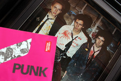 The only band................ (Rongem Boyo) Tags: pink punk clash strummer simonon