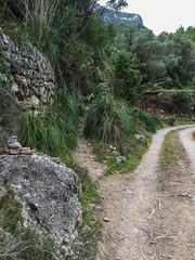 Path to Valldemossa (Peter J Dean) Tags: holiday spain mediterranean path es mallorca valldemossa balearicislands illesbalears dei serradetramuntana may2016 appleiphone6splus