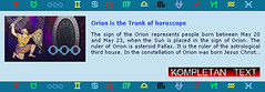 Zodiac Symbols for Orion (AstrologijaHrvatska) Tags: people sign born may orion 23 20 horoscope astrology constellation