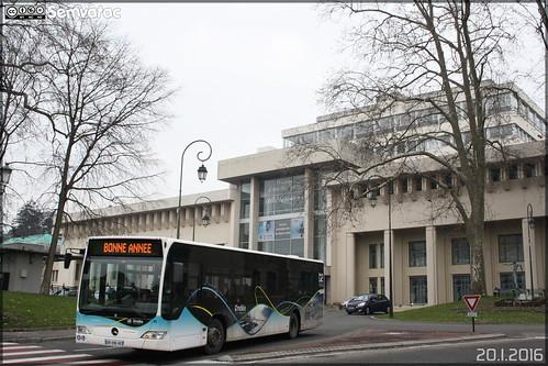 Mercedes-Benz Citaro - Compagnie de Transport du Lac du Bourget (RATP Dev) / Ondéa n°41