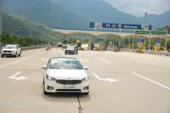 Test-Drive of All-new Cadenza in Korea (Kia Motors Worldwide) Tags: auto test cars car drive automobile automotive korea motors vehicles vehicle passenger kia the 2016 cadenza allnew