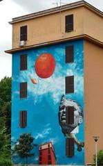 Spettacolo Rinnovamento Maturit (Leon) Tags: streetart gaia spettacolo maturit rinnovamento tormarancia
