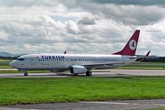 "TC-JGE Boeing 737-8F2 THY Turkish Airlines MAN 15-08-04 (PlanecrazyUK) Tags: man manchester ringway egcc airport"" 150804 tcjge thyturkishairlines boeing7378f2 ""manchester"