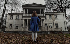 The AmityVille Horror (max_livingloud) Tags: portrait cute abandoned girl movie scary nikon young atmosphere wideangle cinematic tamron backshot