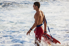 Oceanside Lifeguards (EthnoScape) Tags: oceanside california cityofoceanside lifeguard lifeguards oceansidelifeguard oceansidelifeguards training trainer assistance drown drowning surf surfer surfboard lifesaver lifesavers salvavida salvavidas rescue rescuer rescuetube rookie swim swimming swimmer swimmers athlete athletic health fitness youth boardshorts bikini wetsuit neoprene lycra rubber fiberglass polyurethane danger riptide ripcurrent red yellow baywatch fins swimfins tower lifeguardtower beach shore ocean water safety tourist touristseason jetski summer ethnoscape ethnoscapeimagery outdoor landscape seaside