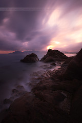 Dancing in the dark .... Sunrise in Cannes (Yannick Lefevre) Tags: longexposure seascape france sunrise landscape nikon europe cotedazur raw nef cannes tripod provence manfrotto nisi esterel frenchriviera alpesmaritimes leefilters d700 fstopper 06gndsoft nikkor1635mmf4 09gndsoft photoshopcc lightroomcc
