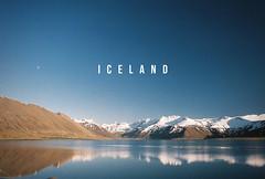 Iceland (Bazzerio) Tags: iceland typography bazzerio 35mm travel adventure landscape lake mountains yashica yashicat5 t4 t5 film analogue analog nordicvisitor