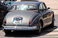 Jaguar Mk2 3.4 (Lazenby43) Tags: ibiza mk2 jag british jaguar