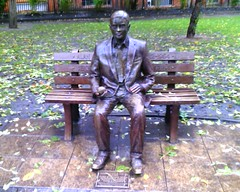 Alan Turing Statue (rich_shepard) Tags: statue university turing