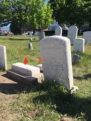 20160618_2603 (Spirits Alive at the Eastern Cemetery) Tags: by headstone conservation h marble huston doggett 2016 easterncemetery spiritsalive dorahuston delfinahuston 20160618
