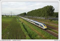 Eurostar 4013/14 - Loenersloot - 16501 (14-06-2016) (Vincent-Prins) Tags: eurostar velaro e320 class374 4013 4014 loenersloot 16501