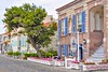 Foca, Izmir (yonca60) Tags: street travel house window turkey ventana town casa haus shutters destination maison oldhouses foca izmir stonehouse colorfulhouses strab beautifulhouses