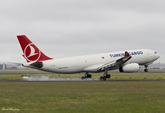 Turkish Cargo A330-200F TC-JDP (birrlad) Tags: shannon snn international airport ireland aircraft airplane airplanes aviation airline airliner airlines airways approach arrival arriving finals landing runway turkish cargo freight freighter transport airbus a330 a332 a330200 a330243f tcjdp tk6559 istanbul atlanta smoke tyres