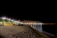 _DSC3602WEB (AlphaFy) Tags: sea summer mer france tourism beach night french nikon paca nikkor t nuit plage 1870 mditerrane frenchriviera saintraphal manfroto d7000