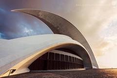 Auditorio de Tenerife by Santiago Calatrava (hsadura) Tags: auditoriodetenerife canaryislands europe santacruzdetenerife spain tenerife architecture auditorium building cityscape downtown futuristic landmark outdoors skyline travel white