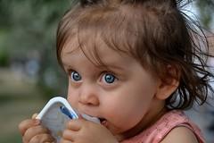 DSC_3630 (auroresb091) Tags: pink baby girl beautiful rose young rosa littlegirl bb