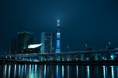 DSC01704 (Zengame) Tags: cloud tower japan architecture night zeiss tokyo cloudy sony illumination landmark illuminated cc creativecommons   rx iki       skytree rx1 komagatabashi   tokyoskytree  rx1r rx1rm2 rx1rmark2