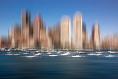 Sailing to Boston (shane.taremi) Tags: ocean city morning cruise blue light sunset sea summer sky usa white seascape abstract motion blur color water yellow boston skyline architecture sailboat skyscraper sunrise buildings landscape boats harbor movement nikon day sailing cityscape unitedstates yacht outdoor massachusetts smooth newengland wideangle coastline waterblur northeast sureal eastcoast yachtclub smoothwater bostoninnerharbor