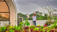 DSC00185_HDR (fahd.b.iqbal) Tags: new portrait sky people selfportrait tree green june clouds portraits landscape photography outdoor sony indoor dhaka alpha bangladesh hdr gulshan indoorphotography hdrphotography a6300