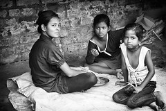 Kolkata (daniele romagnoli - Tanks for 12 million views) Tags: road street girls portrait people blackandwhite bw india monochrome monocromo eyes nikon asia strada child faces occhi sguardo indie kolkata ritratto indien bianconero calcutta slum biancoenero slums inde  indiani calcuta sguardi  bambine  d810  indiane  romagnolidaniele