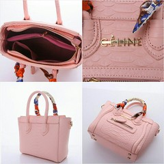 Import @230 Bag Celine 8838 22x10x19cm Croco #FreeTwilly#SemiPremium#Black#Babypink#Beige#Grey (merboutique) Tags: black grey beige babypink freetwilly semipremium