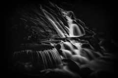 Slate Falls (Dave Holder (Catching Up)) Tags: longexposure white water rock wales canon landscape waterfall rocks waterblur canonefs1022mm slatemine leefilters canon70d leebigstopper