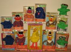 Sesame Street- Topper educational toys? (Jonathon Jones) Tags: toys muppets sesamestreet 70s 1970s vintagetoys