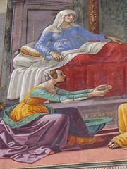 santa maria novella florence 127 (Walwyn) Tags: italy florence fresco renaissance wallpainting johnthebaptist ghirlandaio