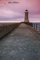 Tyne mouth North Pier (Liam Bitton) Tags: tynemouth coast beach pier lighthouse sunset leadinglines landscape photography seascape beautiful life