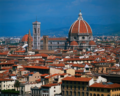 Santa Maria del Fiore - Duomo (leighty11) Tags: italy outdoors photography florence europe exterior towers colorphotography churches cathedrals nobody roofs campanile tuscany christianity urbanscenes europeanperiodorstyle westerneuropeanperiodorstyle belltowers santamariadelfiore piazzadelduomo baptistries communicationfeatures romancatholicism italianperiodorstyle renaissanceperiodorstyle firenzeprovince arnolfodicambio andreapisano arnolfodecambio earlygothicperiodorstyle earlyrenaissanceperiodorstyle filippobrunelleschi francescotalenti gothicperiodorstyle medievalperiodorstyle michelozzomichelozzi baptisteryofsangiovanni