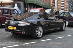 Aston Martin Rapide (D's Carspotting) Tags: black london martin united kingdom aston rapide 20110618 ab11oud