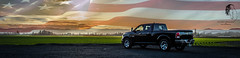 RAM USA ( S. D. 2010 Photography) Tags: dodge ram 1500 57 hemi patriotic usa america murica landscape
