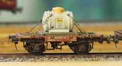 2mm FS, Scratchbuild Bromide Tank (Nik Morris (van Leiden)) Tags: model cornwall br railway tankers tutbury ici hayle 2mm northquay finescale 2mmfs associatedethyl