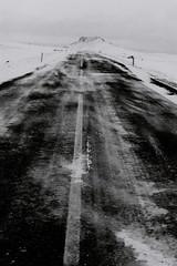acn du paysage (asketoner) Tags: road winter mountain snow landscape iceland waves wind windy blowing roadtrip