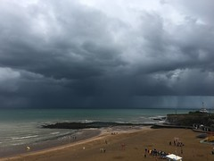 Rainy afternoon (Speckled Jim) Tags: storm rain coast kent broadstairs