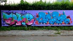 Graffiti Skatezone (oerendhard1) Tags: urban streetart art graffiti rotterdam frame casm skatezone