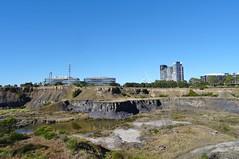Strata in abandoned brickworks  quarry- Sydney Olympic  Park (AndyBrii) Tags: quarry homebush sydneyolympicpark ringwalk statebrickworks