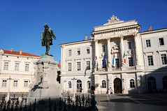 Giuseppe Tartini Square and statue, Piran / Slovenia (anji) Tags: slovenia slovenija exyu exyugoslavia balkans istria istra adriaticsea adriatic jadran piran pirano