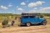 Time for a picnic [Andujar / Spain] (babakotoeu) Tags: car jeep offroad 4x4 toyota land series 40 landcruiser cruiser troopy bj40 40series bj45
