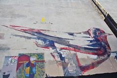 Mesa_7194 rue de la Fontaine au Roi Paris 11 (meuh1246) Tags: streetart paris animaux oiseau mesa paris11 ruedelafontaineauroi