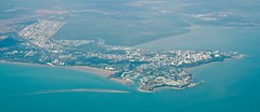 Darwin from above (mblaeck) Tags: city water buildings darwin lookingdown fromthesky inthesky cityfromthesky darwinfromthesky