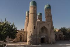Chor Minor (Stefano Cislaghi) Tags: uzbekistan bukhara madrassah madrasah