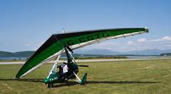 G-CGTU Quik, Oban (wwshack) Tags: scotland argyll oban microlight quik egeo flexwing obn obanairport connelflyingclub gcgtu