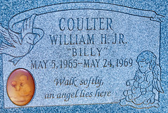 Billy, 1969 (The Fotogrphr) Tags: life old family boy people sculpture baby white black love church cemetery grave graveyard statue stone natal dark dead lost religious death sadness kid pain hug toddler memorial die catholic peace child sad symbol serious little god outdoor victim headstone small religion tomb tombstone daughter young adorable ground son icon christian funeral tragedy terrible newborn burial christianity marble care sorrow tombs isolated grief mourn symbolism illness deceased mortality suffer cruel infancy mourner