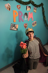 Day 179-4/28/13 (remixproject365) Tags: she flowers yes prince prom said proposal promposal