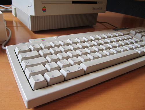 Apple Macintosh SE - Tastatur